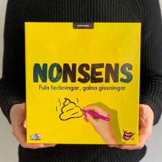 Sällskapsspel med knäppa teckningar - Nonsens, Gul