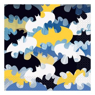 Servetter Retro Batman - 16-pack